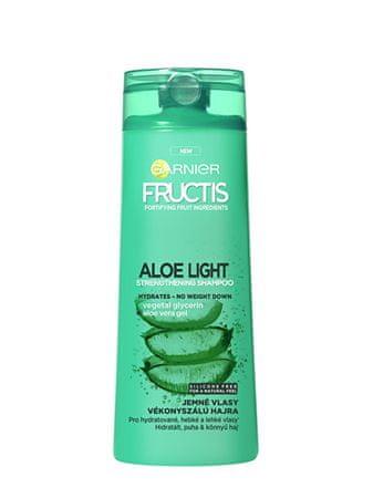 Garnier Wzmacniający szampon z aloesem na Fructis (Aloe Strength ening Shampoo) Light (Aloe Strength ening S