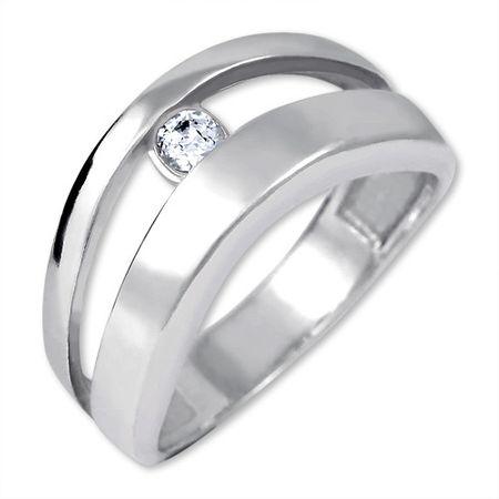 Brilio Silver Prvotni srebrni prstan 426 001 00440 04 - 2,95 g (Vezje 51 mm) srebro 925/1000
