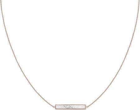 Cluse Bronasta ogrlica z marmoriranim obeskom CLJ20009