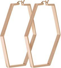 Cluse Hexagon Bronze Kolczyki CLJ50003