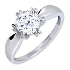 Brilio Silver Izrazit zaročni prstan 426 001 00502 04 - 2,13 g srebro 925/1000