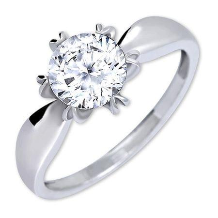 4cd36f4d4 Brilio Silver Výrazný zásnubný prsteň 426 001 00502 04 - 2,13 g (Obvod