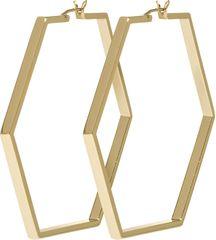 Cluse Hexagon pozłacany Kolczyki CLJ51003