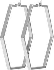 Cluse Hexagonové náušnice CLJ52003
