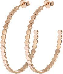 Cluse Brąz okrągły Kolczyki składający się z sześciokątów CLJ50008
