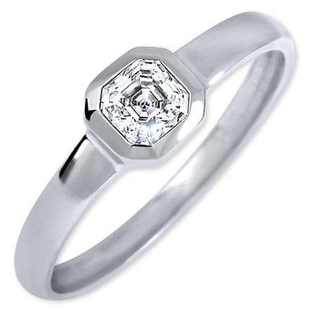 Brilio Silver Ezüst eljegyzési gyűrű 426 001 00509 04 - 1,27 g (áramkör 58 mm) ezüst 925/1000