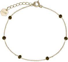 Cluse Aranyozott karkötő gyöngyökkel CLJ11013