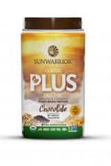 Sunwarrior Protein Plus BIO čokoládový 750 g