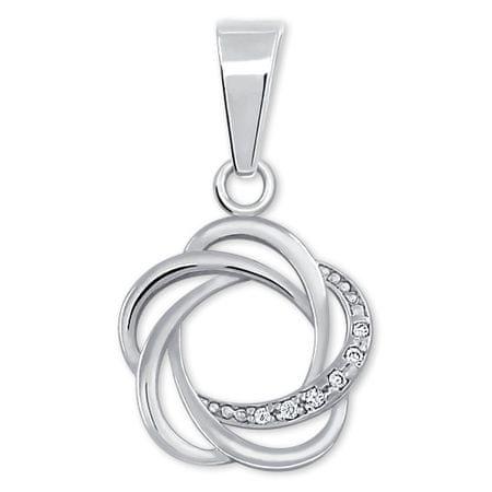 Brilio Silver Izvirni srebrni obesek za ženske 446 001 00374 04 srebro 925/1000