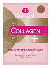 Dermacol Intensywne odmładzająca maski Collagen oraz (Intensive Rejuven ating Face Mask) 2 x 8 g