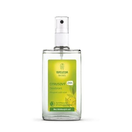 Weleda Citrus dezodor 24H (mennyiség 100 ml)