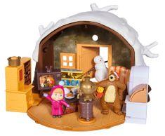 SIMBA Máša a medveď Zimný dom