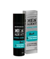 Dermacol Hydratační gelový krém a balzám po holení Men Agent (Moisturiser After Shave) 50 ml