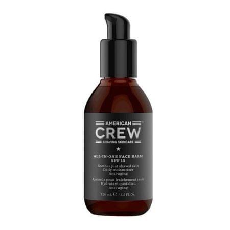 American Crew Hidratáló arcápoló balzsam SPF 15 (All-In-One Face Balm) 170 ml