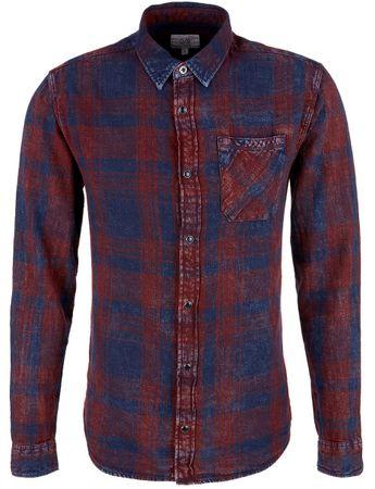 Q/S designed by pánská košile XL tmavo modrá