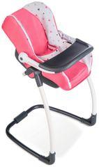 Smoby fotelik samochodowy i krzesełko dla lalki Maxi Cosi & Quinny 3w1