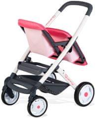 Smoby športni voziček za dvojčka Maxi Cosi