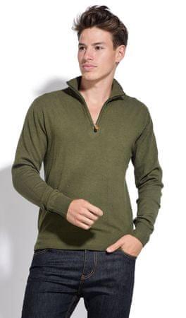 William de Faye moški pulover, XXL, zelen