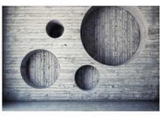 Dimex Fototapeta MS-5-0038 Drevená 3D stena 375 x 250 cm