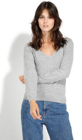 William de Faye ženski pulover, siv, XXL