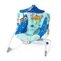 Disney otroški ležalnik z vibracijami Nemo, 0 m+