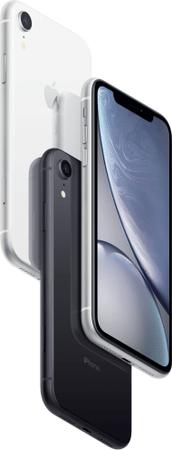 Apple iPhone XR Store 6.1 cala wyświetlacz Super Retina IPS LCD wysoka rozdzielczość HDR Gorilla Glass warstwa oleofobowa płatności NFC odnowiony oryginalne elementy Apple Renewd refurbished iPhone dźwięk stereo szybkie i bezprzewodowe ładowanie