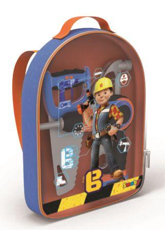 Smoby plecak Bob Budowniczy z automatyczną wiertarką