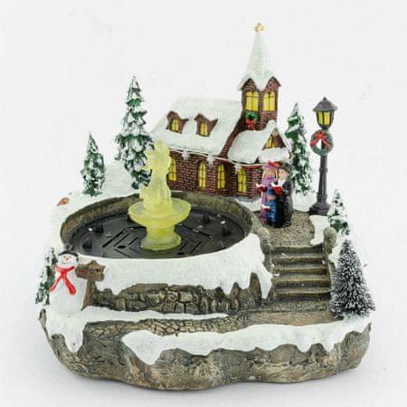 Seizis ozdoba świąteczna - fontanna LED