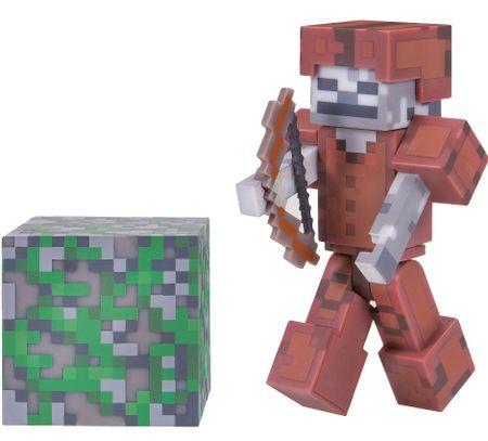 TM Toys Minecraft - kolekcjonerska figurka Szkielet w skórzanej zbroi