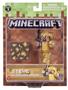 2 - TM Toys Minecraft - Steve gyűjthető figura arany páncélban
