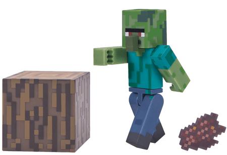 TM Toys Minecraft Figurka Zombie villager
