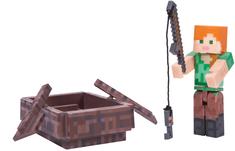 TM Toys Minecraft - figurka Alex s lodí