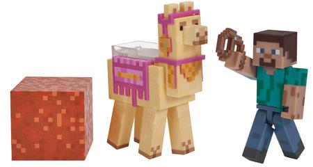 TM Toys Minecraft - Steve készlet lámával