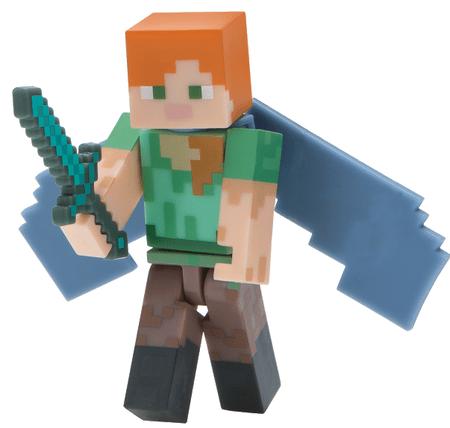 TM Toys Minecraft - figurka Alex i skrzydła Elytry