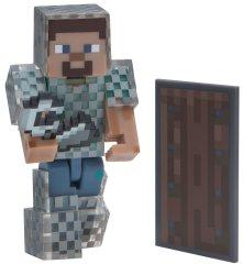 TM Toys Minecraft - figurka Steve v řetězové zbroji