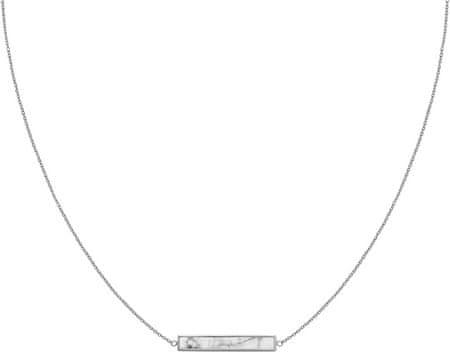 Cluse CLJ22009 obložena ogrlica iz marmorja
