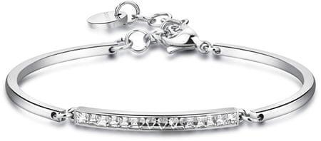 Brosway bransoleta ze stali z kryształkami Chakra BHK96