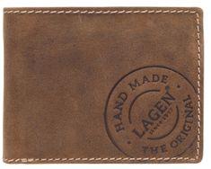 Lagen Férfi barna bőr pénztárca 5081/C