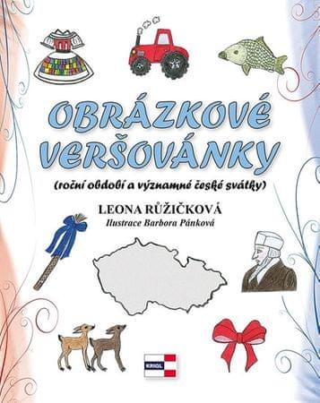 Růžičková Leona: Obrázkové veršovánky (roční období a významné české svátky)
