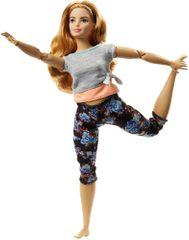 Mattel Barbie Made to Move, pomarańczowa
