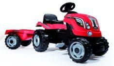Smoby Šlapací traktor Farmer XL červený
