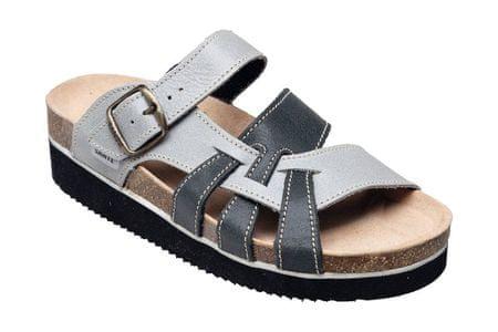 SANTÉ Zdravotná obuv dámska N / 240/9/19/69 / H / K / CP šedá (Veľkosť vel. 36)