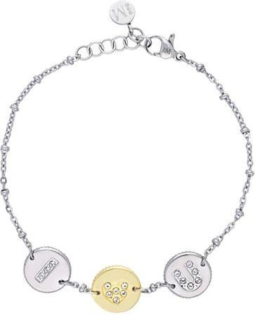 Morellato bransoleta ze stali nierdzewnej z monet Monetine SAHQ06