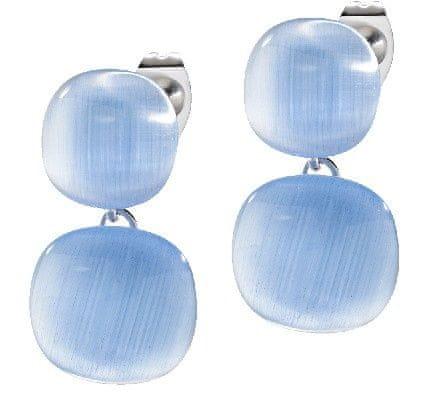 Morellato Ezüst fülbevaló kék macskaszem kővel SAKK08 ezüst 925/1000