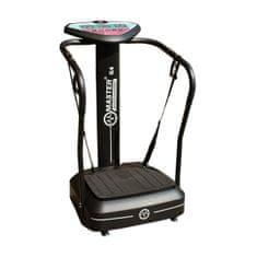Master vibračný posilňovací stroj - G4 - čierny