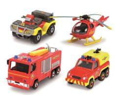 DICKIE Požiarnik Sam darčeková súprava s vrtuľníkom