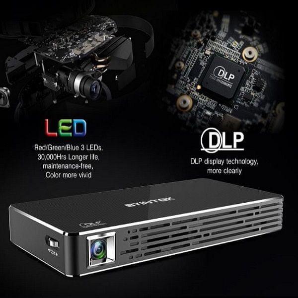 BYINTEK P10 LED DLP technologija