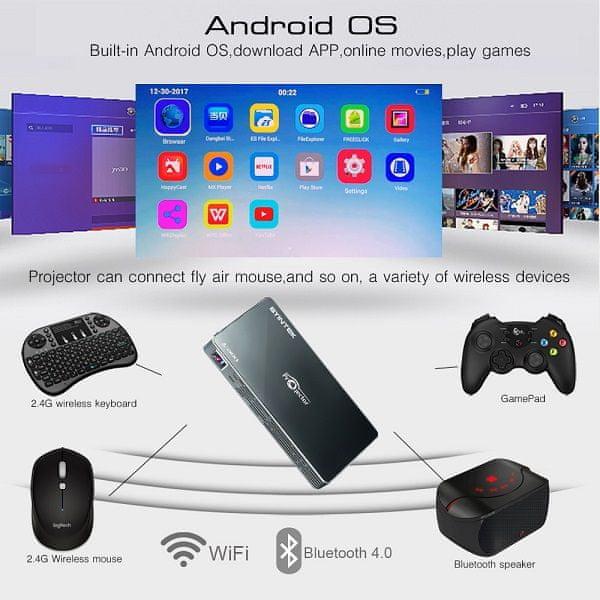 BYINTEK P10 Android