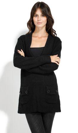 William de Faye ženski pulover, M, črn