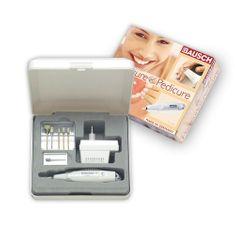 Bausch Urządzenie do manicure i pedicure z akcesoriami 0309